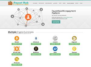 Anteprima sito di Faucethub.io